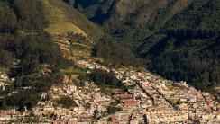 Quito Ecuador and Andes HD Wallpaper