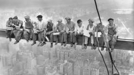 Rockefeller Center Construction Site HD Wallpaper