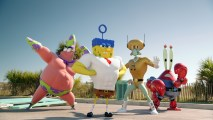 Spongebob: Sponge Out of Water Movie HD Wallpaper