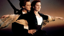 Titanic Flying Leonardo DiCaprio Kate Winslet HD Wallpaper