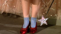 Wizard of Oz Ruby Slippers HD Wallpaper