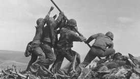 Iwo Jima Flag Raising HD Wallpaper