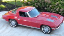 1963 Chevrolet Corvette HD Wallpaper