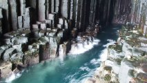Fingal's Cave HD Wallpaper