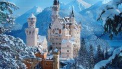 Neuschwanstein Castle HD Wallpaper