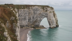 Sea Cliffs Etretat France HD Wallpaper